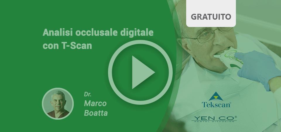 Analisi Occlusale Digitale con T-Scan, il VIDEO