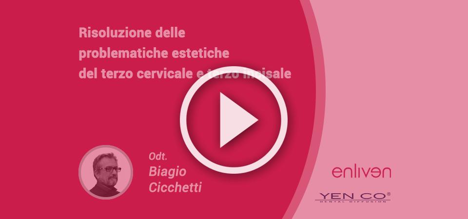 Risoluzione problematiche estetiche terzo cervicale e terzo incisale: video corso