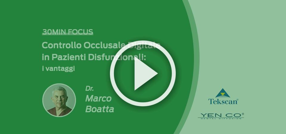 Controllo Occlusale Digitale in Pazienti Disfunzionali: i vantaggi, video corso