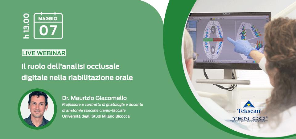 Il ruolo dell'analisi occlusale digitale nella riabilitazione orale