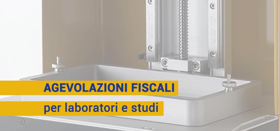 Agevolazioni 4.0 e credito d'imposta al 50%: vantaggi per laboratori e studi