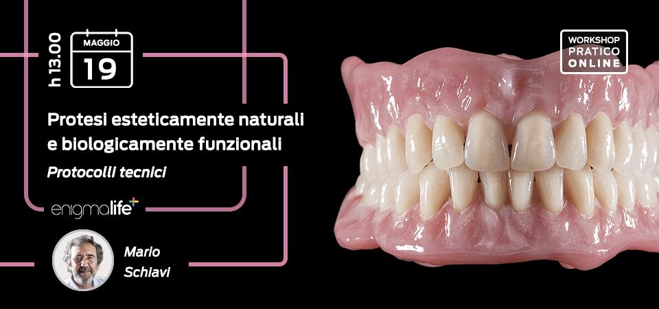 Protesi esteticamente naturali e biologicamente funzionali – 19 Mag 2021