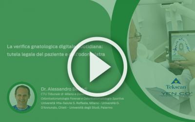 La verifica gnatologica digitale quotidiana: tutela legale del paziente e dell'odontoiatra, video corso